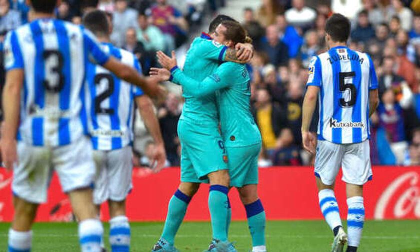La Liga: Άφησε βαθμούς στο «Ανοέτα» η Μπαρτσελόνα (αποτελέσματα, highlights, βαθμολογία)
