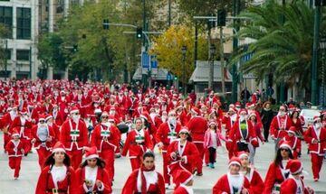 Κυκλοφοριακές ρυθμίσεις στην Αθήνα την Κυριακή (15/12), λόγω του «6 SANTA RUN ATHENS»!