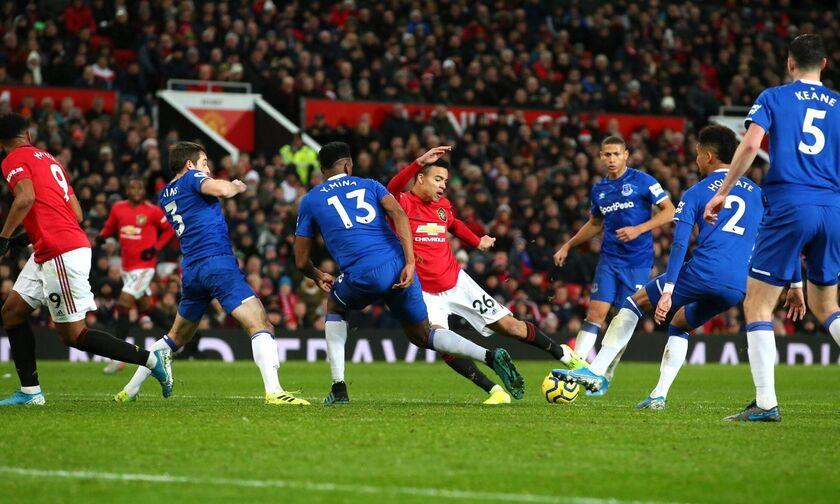 Premier League: Στα... χασομέρια η Τότεναμ, «στοπ» της Έβερτον στη Γιουνάιτεντ (highlights)