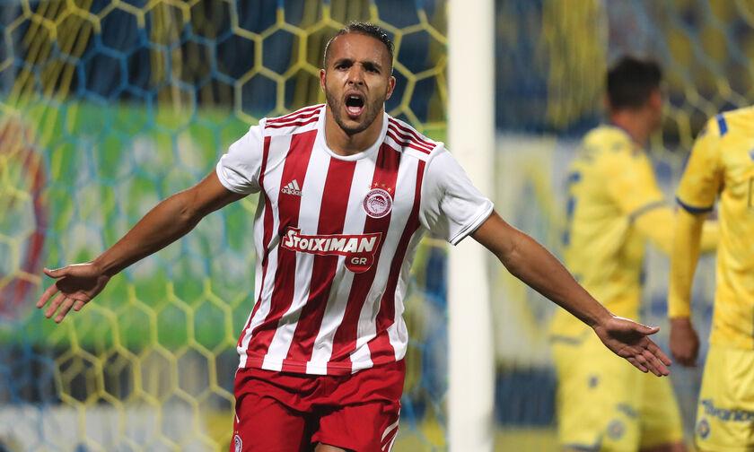 Αστέρας Τρίπολης-Ολυμπιακός 0-5: Ακόμα βάζει για τον Γκιγιέρμε