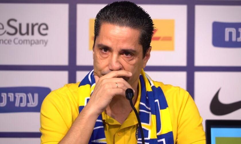 Δάκρυσε ο Σφαιρόπουλος για την ανανέωση με Μακάμπι: «Από τις πιο όμορφες στιγμές της καριέρας μου»