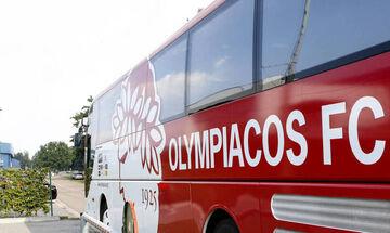 Η selfie των παικτών του Ολυμπιακού μέσα στο πούλμαν (pic)