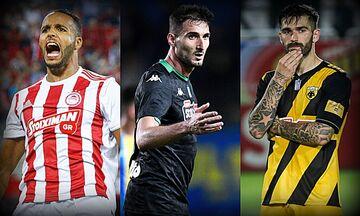 Super League 1: Ο Ολυμπιακός με ΑΕΛ, στο Ηράκλειο ο Παναθηναϊκός, με Αστέρα η ΑΕΚ