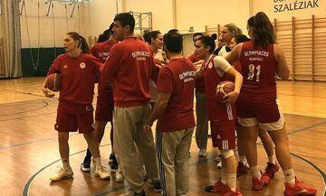 Ολυμπιακός: Στην Ουγγαρία για το πρώτο βήμα
