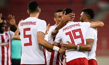 Ολυμπιακός - ΑΕΛ: 4-1: Τα πέντε γκολ στο «Γ. Καραϊσκάκης»