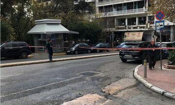 Ύποπτη βαλίτσα στο Κολωνάκι - Κλειστοί δρόμοι στο κέντρο της Αθήνας (pics)
