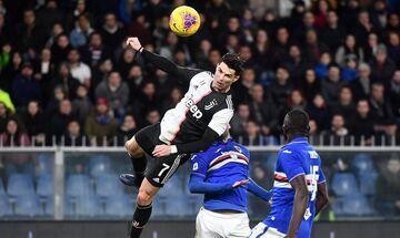 Ρονάλντο: Το φοβερό άλμα του στο δεύτερο γκολ επί της Σαμπντόρια (vid)