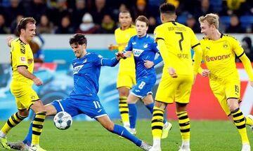 Bundesliga: Πολλά λάθη και ήττα από την Χόφενχάιμ για την αδιόρθωτη Ντόρτμουντ (βαθμολογία)
