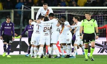 Serie A: Περίπατος της Ρόμα στη Φλωρεντία (πρόγραμμα, βαθμολογία)
