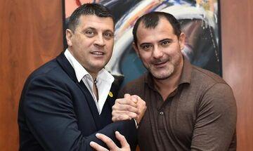 Ερυθρός Αστέρας: Στον πάγκο και επίσημα ο Ντέγιαν Στάνκοβιτς (pics, vid)