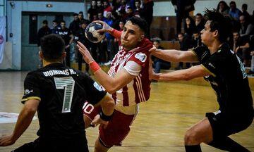 Handball Premier: Πέρασε από το Άργος ο Ολυμπιακός, 31-22 τον Διομήδη