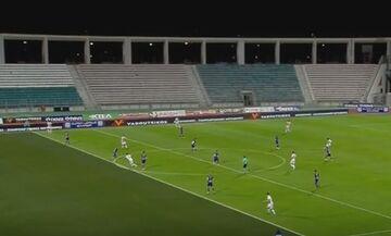 Βόλος - Ολυμπιακός: Το καθαρό γκολ του Σουντανί, που ακυρώθηκε και με χρήση VAR (vid)