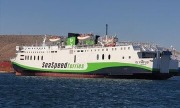 Ρέθυμνο: Πρόσκρουση του πλοίου «Olympus» με πλωτό γερανό μέσα στο λιμάνι!