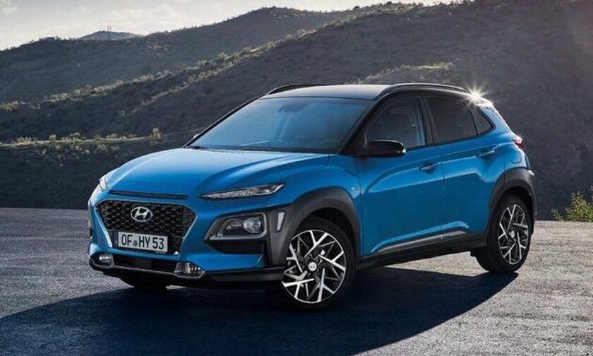Έρχονται τα νέα Hyundai Kona Hybrid και Electric