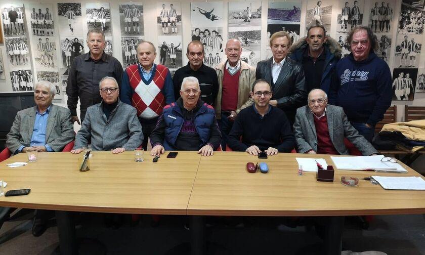 Ολυμπιακός: Τα χρόνια πολλά από τους Βετεράνους στον σύλλογο!
