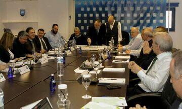 Super League: Δ.Σ. στις 30/12 για την αποχή των διαιτητών
