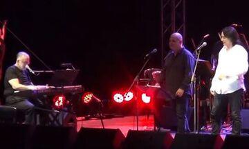 Η τελευταία συναυλία του Θάνου Μικρούτσικου και το μήνυμά του προς τον κόσμο (vid)