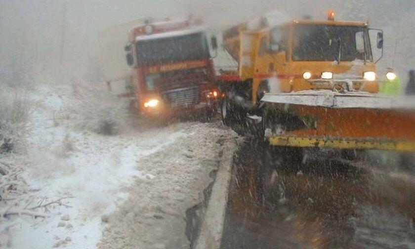 Προληπτική απαγόρευση κυκλοφορίας φορτηγών στην εθνική Αθηνών- Λαμίας στο Σχηματάρι