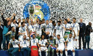 UEFA: Η Ρεάλ Μαδρίτης κορυφαία ομάδα της δεκαετίας