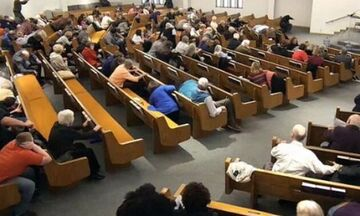 Πυροβολισμοί σε εκκλησία - Δύο νεκροί και ένας τραυματίας (vid + pics)