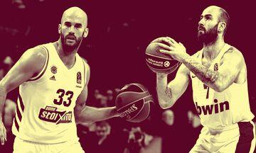 EuroLeague: Τέσσερις Έλληνες στην κορυφή των στατιστικών κατηγοριών της δεκαετίας!