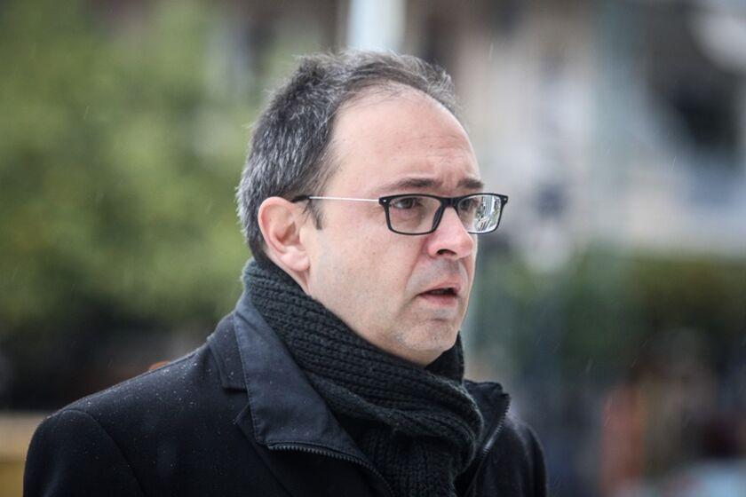 Ο υπεύθυνος επικοινωνίας της ΠΑΕ Ολυμπιακός, Νίκος Γαβαλάς