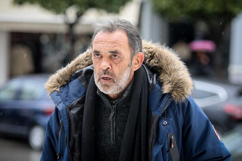 Ο πρώην ποδοσφαιριστής του Ολυμπιακού, Γιώργος Βαΐτσης