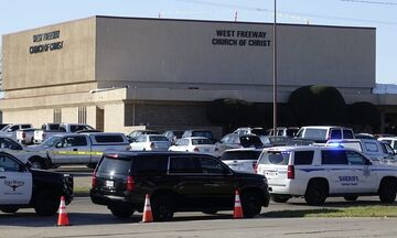 Βίντεο: Η στιγμή που ένοπλος πυροβολεί πιστούς σε εκκλησία του Τέξας