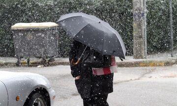 Καιρός: Βροχές και χιονόνερο - Χιόνια στα ορεινά της Αττικής!