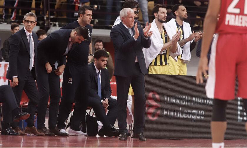 VIDEO: Το χειροκρότημα του Ομπράντοβιτς τη στιγμή του τριπόντου-ρεκόρ του Σπανούλη