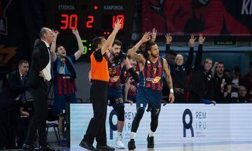 Μπασκόνια - Μπαρτσελόνα 76-74: Οι Βάσκοι «δάγκωσαν» τους Καταλανούς (vid)