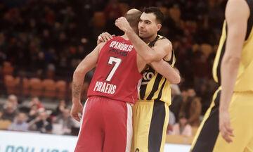 Σλούκας για Σπανούλη: «Τώρα το όνομα σου θα μείνει αιώνια στην EuroLeague» (pic)