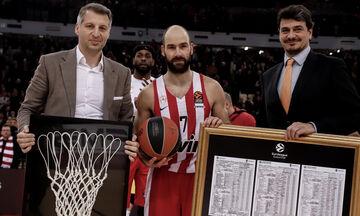 Ολυμπιακός: 20 άνθρωποι της EuroLeague υποκλίνονται στον Σπανούλη! (vid)