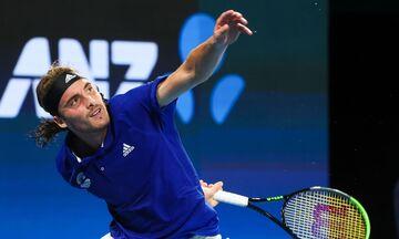 ATP Cup: Ηττήθηκαν στο διπλό Τσιτσιπάς και Περβολαράκης