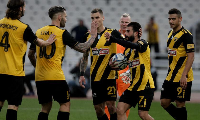 ΑΕΚ - Παναιτωλικός 3-1: Με δύο VARίσια πέναλτι και σκόρερ τους Λιβάγια και Βέρντε