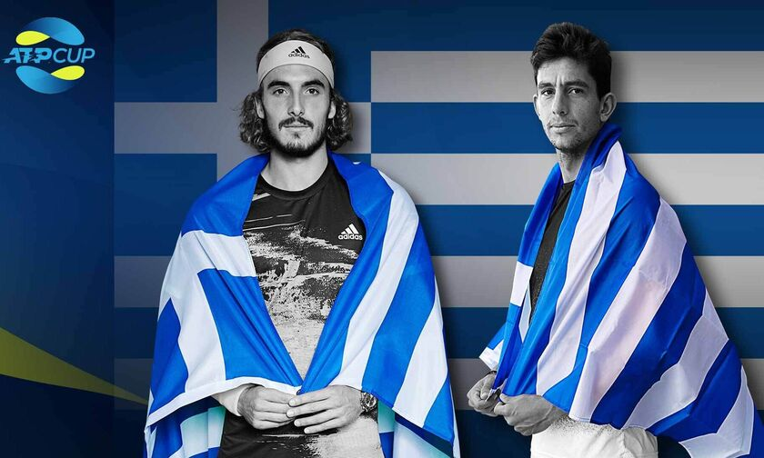 ATP Cup: Το πρόγραμμα της Τρίτης (7/1) και τα κανάλια που θα δείξουν Τσιτσιπά, Περβολαράκη
