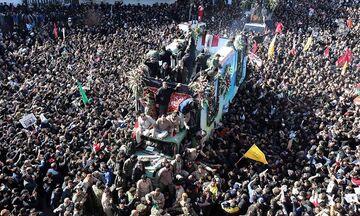 Κηδεία Σουλεϊμανί: Τουλάχιστον 50 άτομα ποδοπατήθηκαν μέχρι θανάτου! (vids)