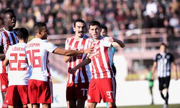 Καλαμάτα - Ολυμπιακός 0-2: Tα γκολ, η απόκρουση του Αλέν, το πέναλτι στον Χριστοδουλόπουλο (vids)