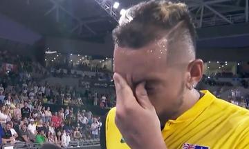 ATP Cup: Το κλάμα του Κύργιου (vid)