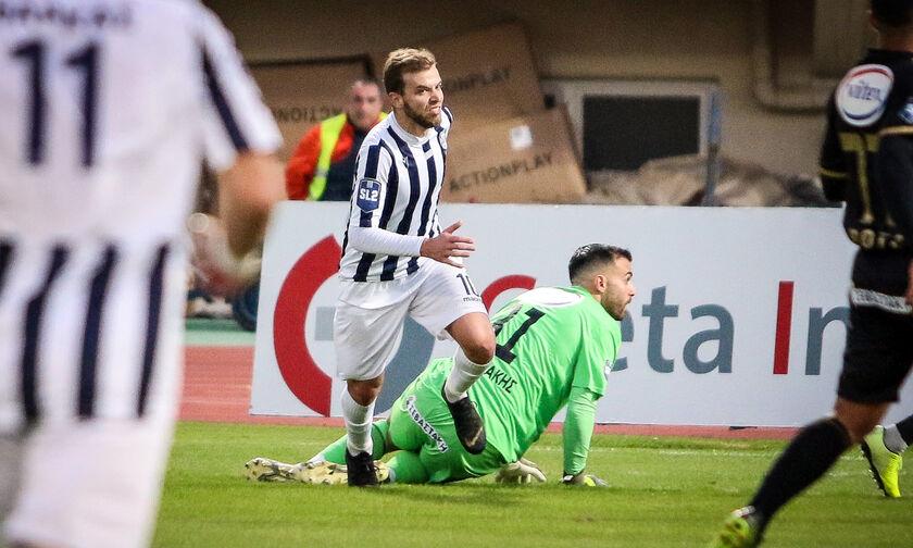 Super League 2: Νικηφόρο ντεμπούτο για Τεννέ στον Απόλλωνα Σμύρνης, 2-0 τον Εργοτέλη (βαθμολογία)