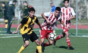 Super League K15: Διπλό του Ολυμπιακού στην έδρα της ΑΕΚ με 2-1