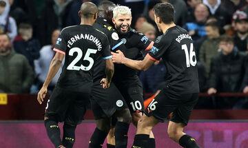 Premier League: Ο Αγουέρο έγραψε Ιστορία στο 6-1 της Μάντσεστερ Σίτι επί της Άστον Βίλα (highlights)