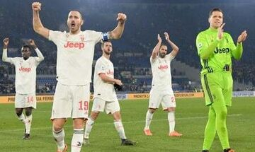 Serie A: Η Γιουβέντους πέρασε 2-1 από τη Ρώμη (αποτελέσματα, βαθμολογία)
