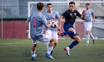 Super League K17: Επίδειξη δύναμης από τον Ολυμπιακό, 5-0 τον Πανιώνιο