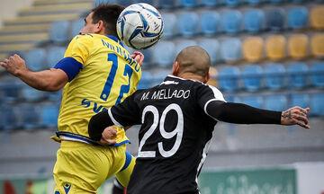 Αστέρας Τρίπολης - ΟΦΗ: Το πέναλτι-γκολ του Μπαράλες για το 1-0 (vid)