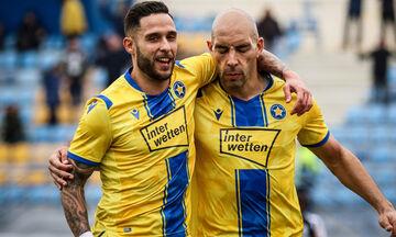 Αστέρας Τρίπολης - ΟΦΗ 2-0: Εκτελεστής ο Μπαράλες (vid)