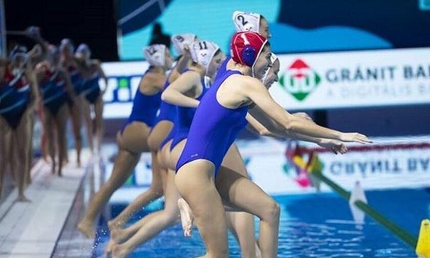 Ευρωπαϊκό Πρωτάθλημα Πόλο: Στα προημιτελικά η Εθνική γυναικών, 18-3 την Κροατία