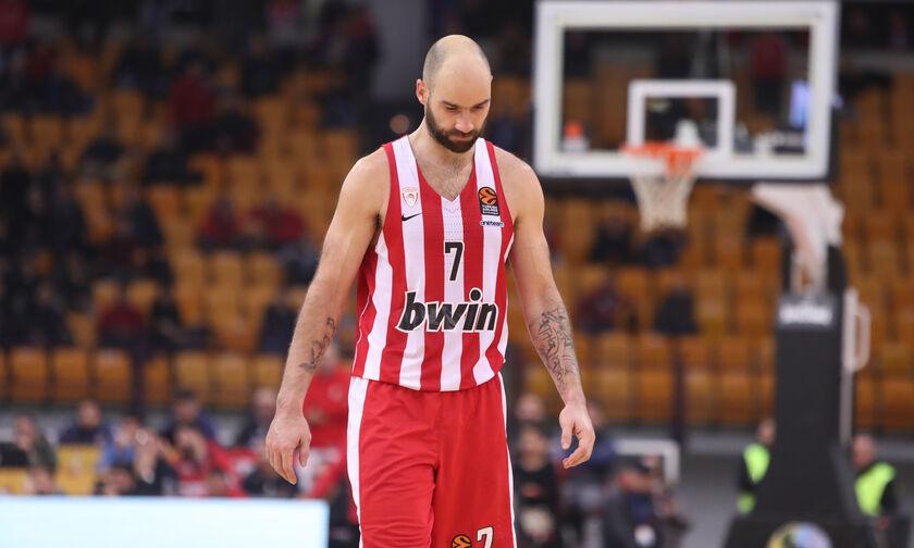Oλυμπιακός-Άλμπα 86-93: Κλώτσησε την ευκαιρία, απομακρύνθηκε η οκτάδα (highlights)