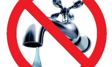ΕΥΔΑΠ: Διακοπή νερού σε Ρέντη, Αιγάλεω, Γαλάτσι, Γλυφάδα, Ελευσίνα, Κερατσίνι, Κηφισιά