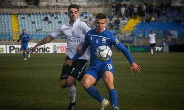 Λαμία - Τρίκαλα: Τα δύο γκολ που διαμόρφωσαν το 1-1 στο πρώτο ημίχρονο (vids)